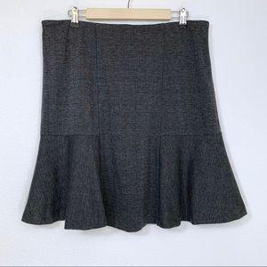 Plaid Tulip Ruffle Skirt
